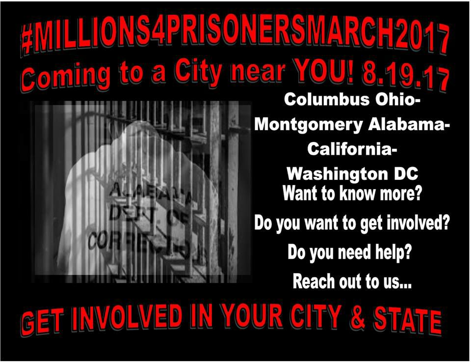 Millions for Prisoners March